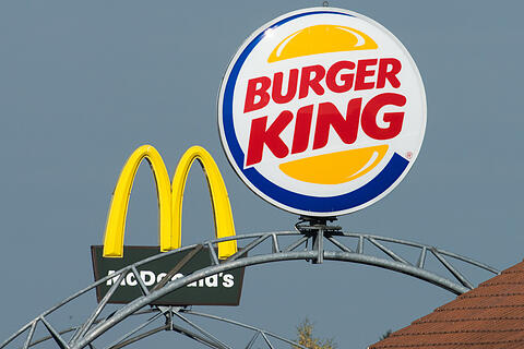 McDonald's und Burger King